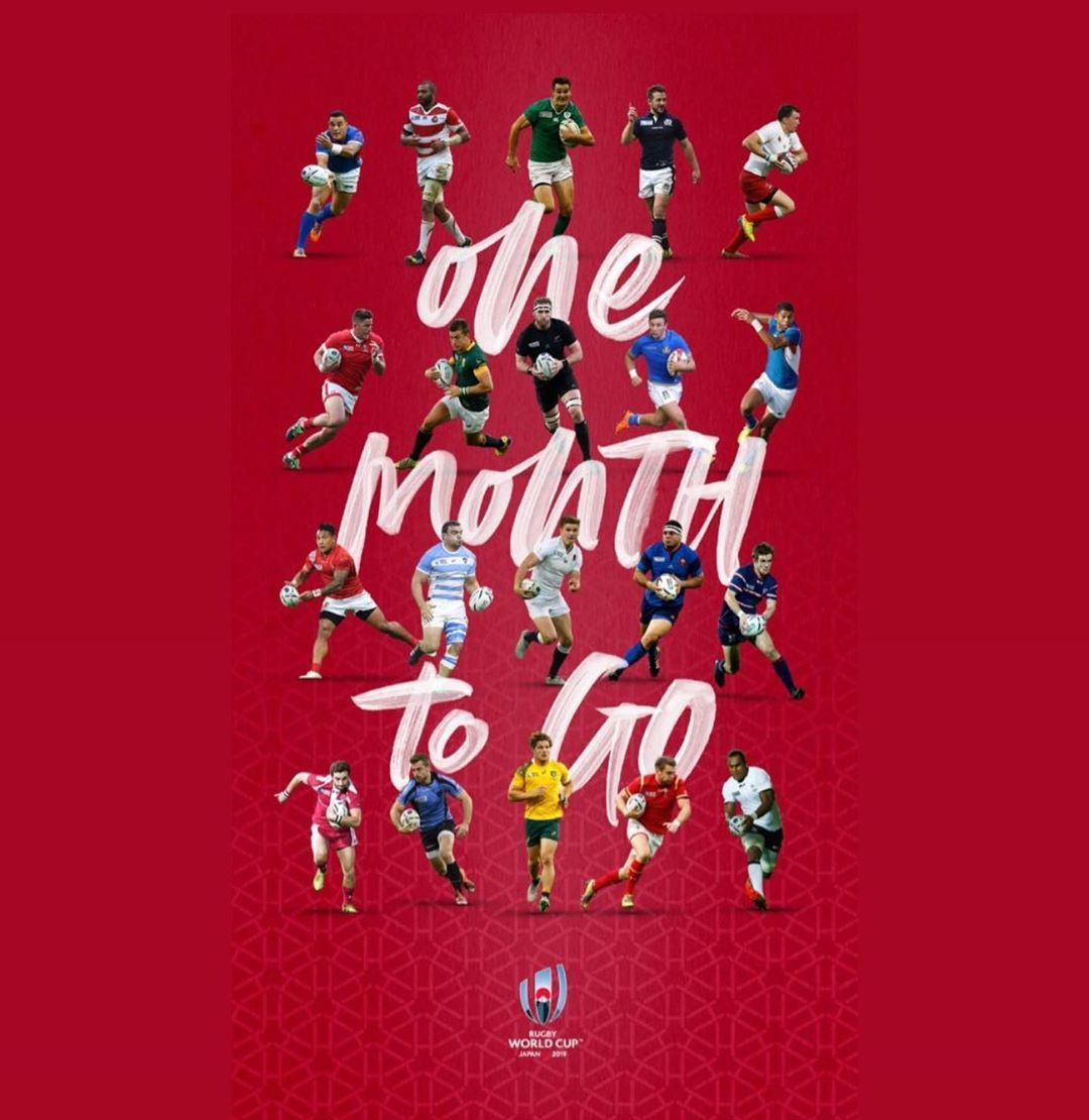 Japan Rugby On Instagram Only One Month Till The Rwc Are You Backing The The Brave Blossoms Japanway Oneteam Rwc Rwc19 Japan Brave Rugby
