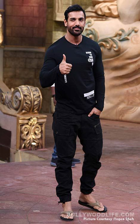Comedy Circus: Sonakshi Sinha and John Abraham light up the sets with their energy  view HQ pics