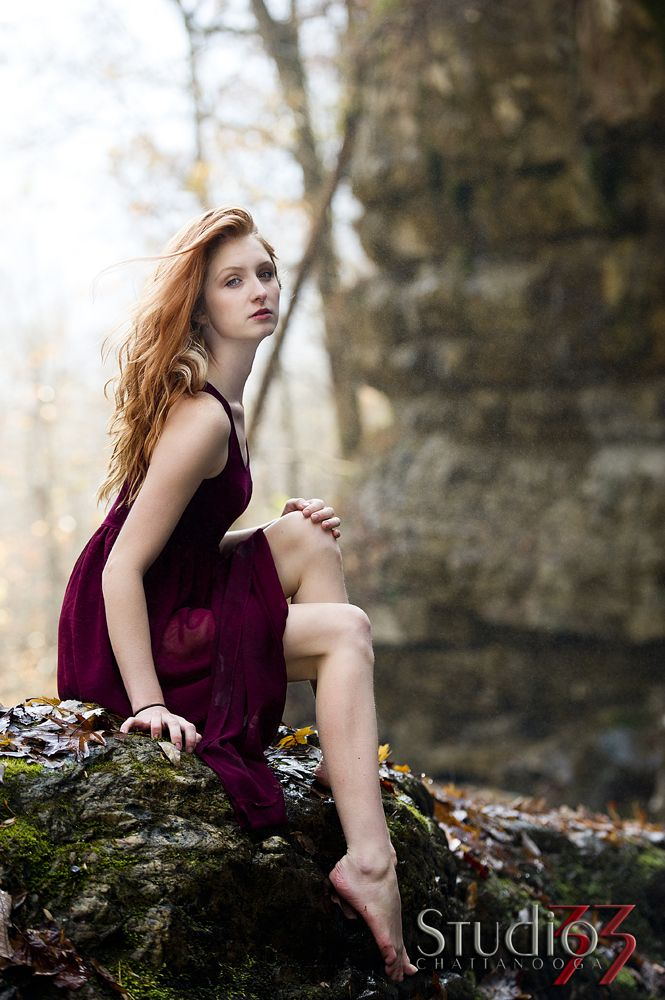 Glam Fall Background Wallpaper Waterfall Boudoir Photos Chattanooga Editorial