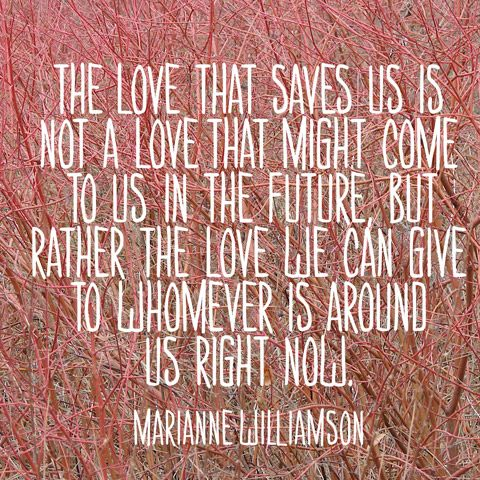 Quote About Self Expression   Marianne Williamson Quote