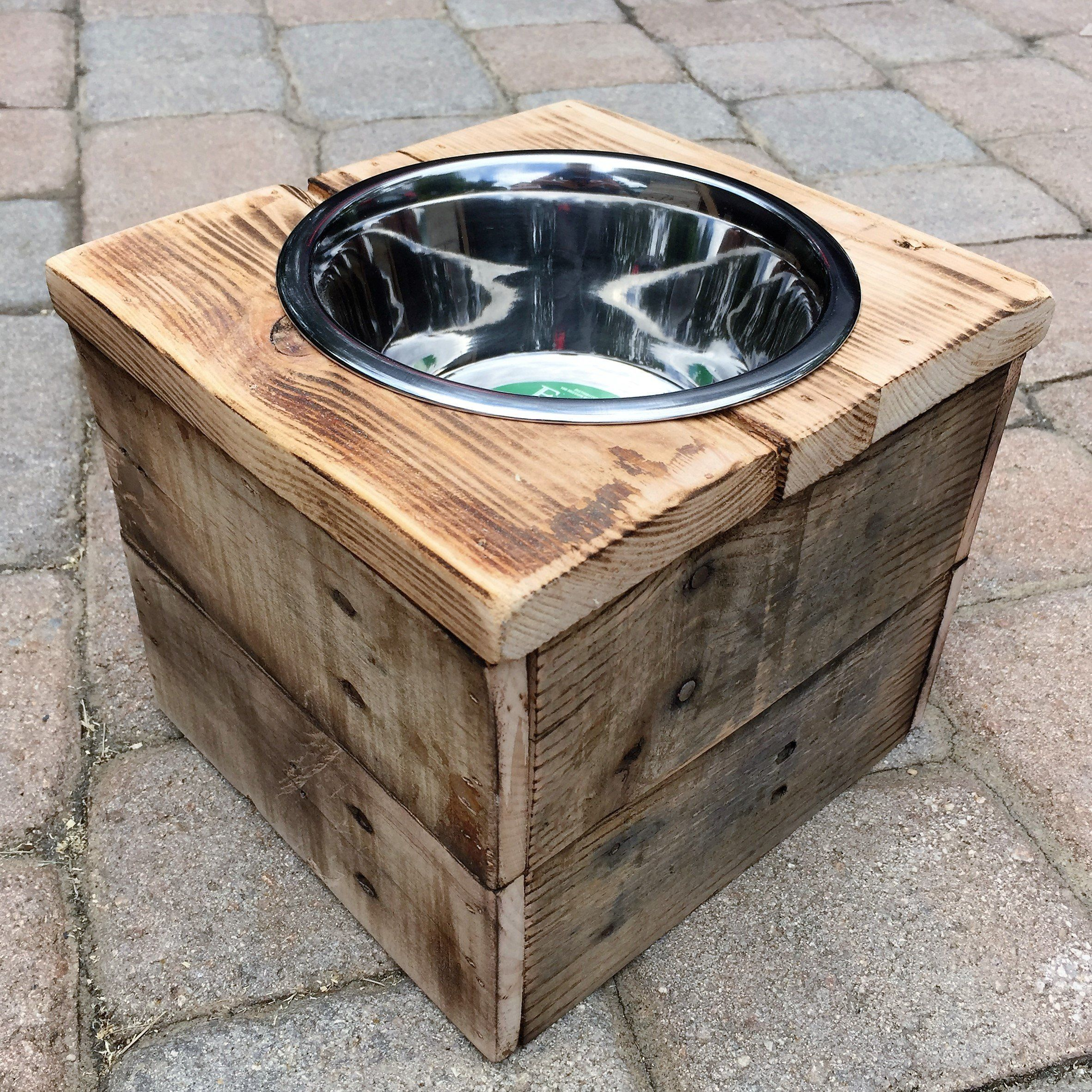 or how a make dog three watch cat to bowl stand feeder diy