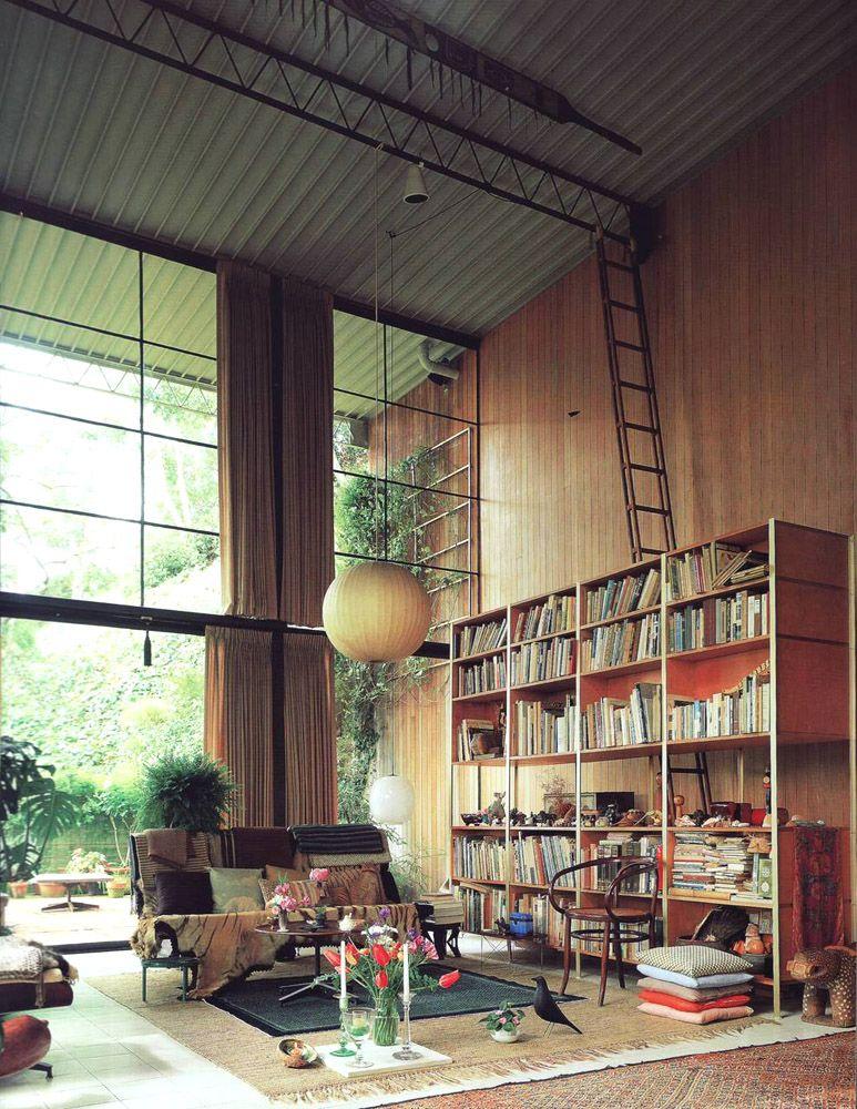 Eames House, aka Case Study House No. 8. Eames house