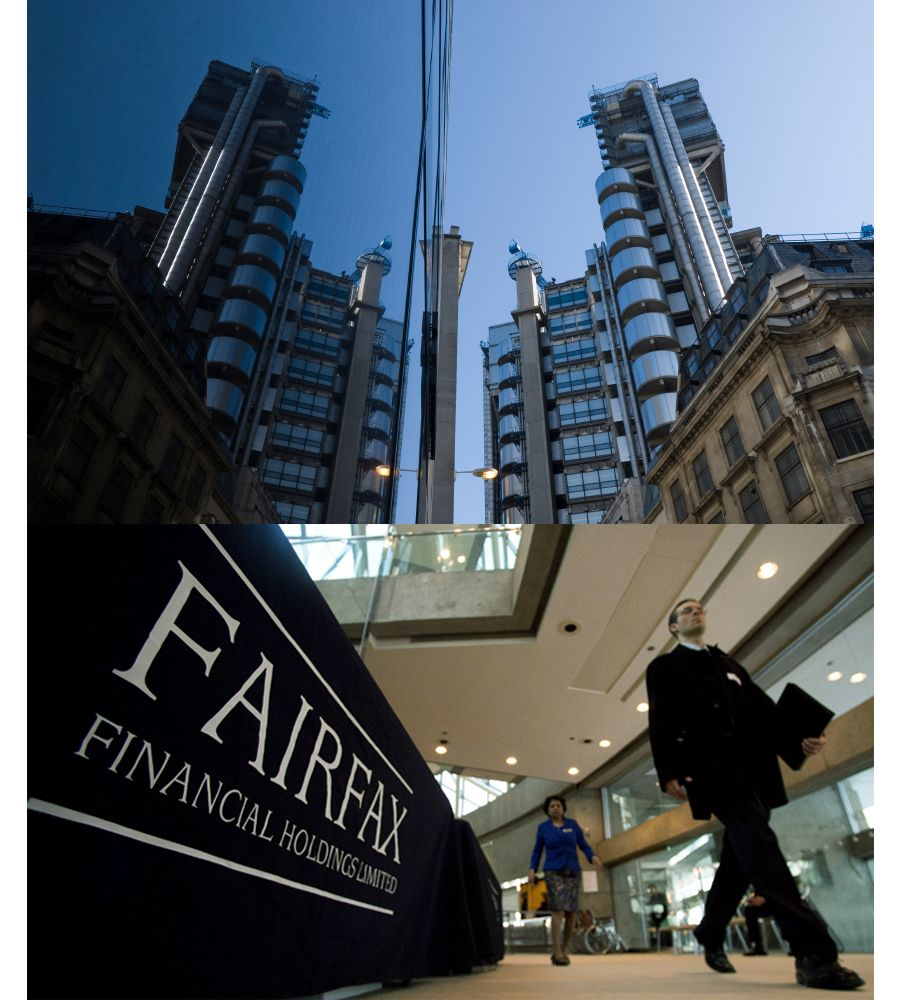 Fairfax Financial Is A Financial Holding Company Based In Toronto