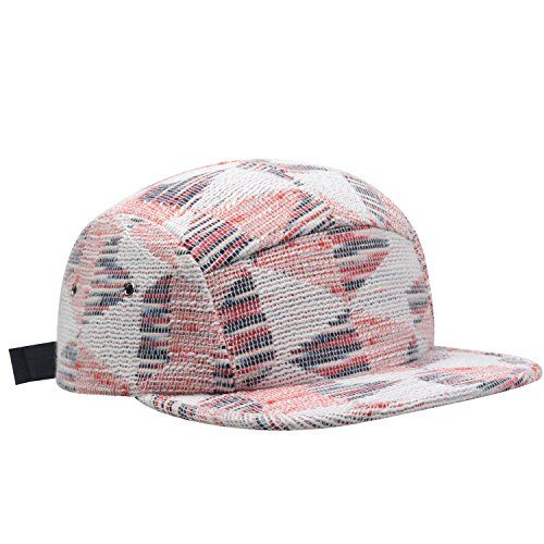 578d4469580 Hatphile Trends Jacquard Geo 5 Panel Hat Camper Multicolo... https ...