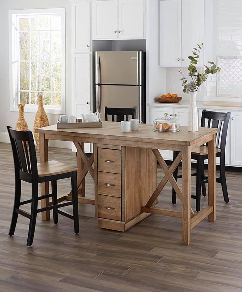 Double Sided Kitchen Island | Kitchen remodel, Kitchen design
