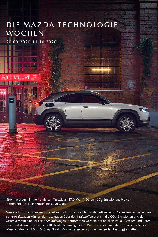 Erlebe Die Premiere Des Neuen Vollelektrischen Mazda Mx 30 Bei Deinem Handler In 2020 Mazda Leichtmetallfelgen Elektrisch