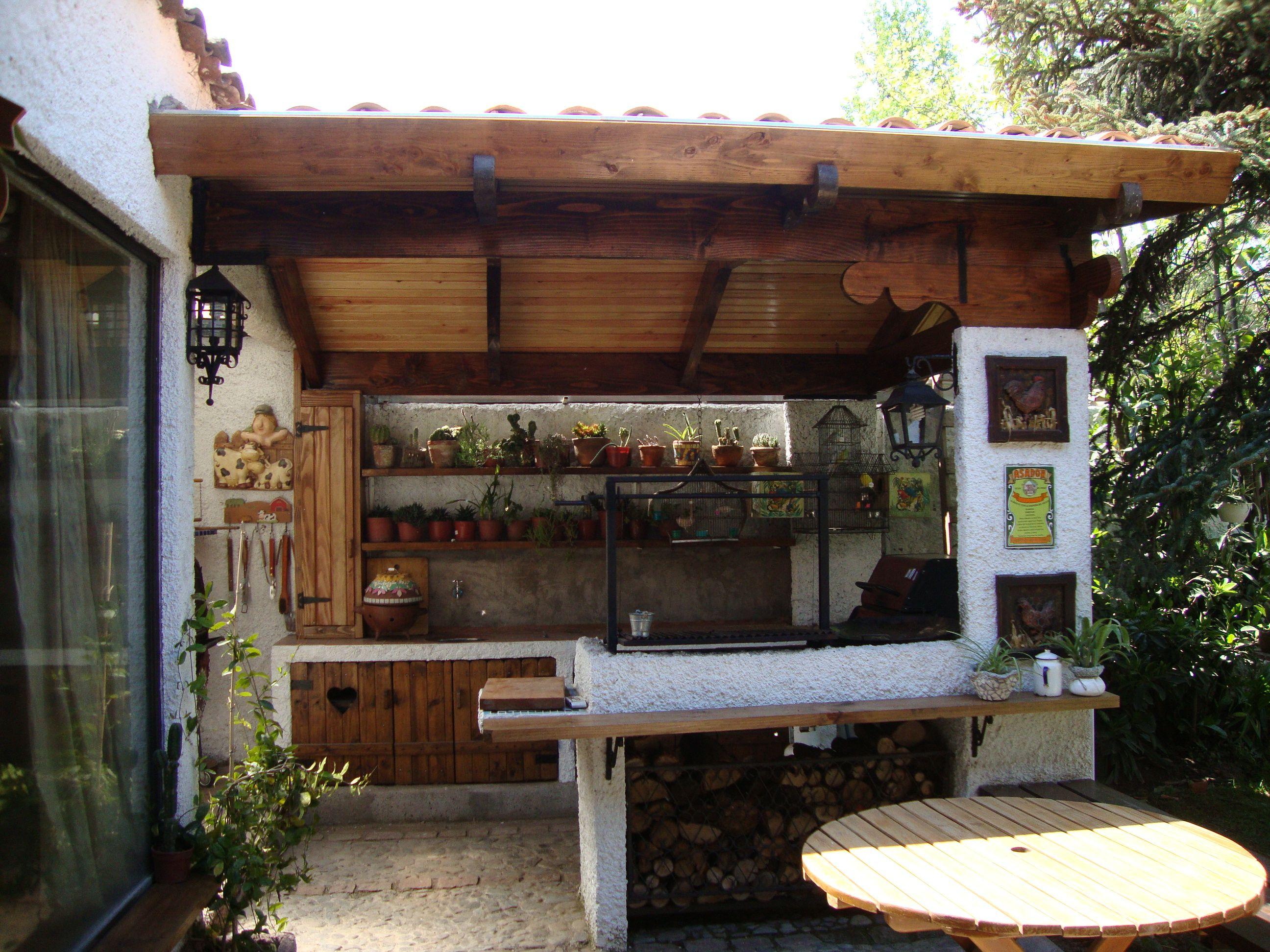 Quincho quinchos pinterest quinchos terrazas y for Terrazas quinchos