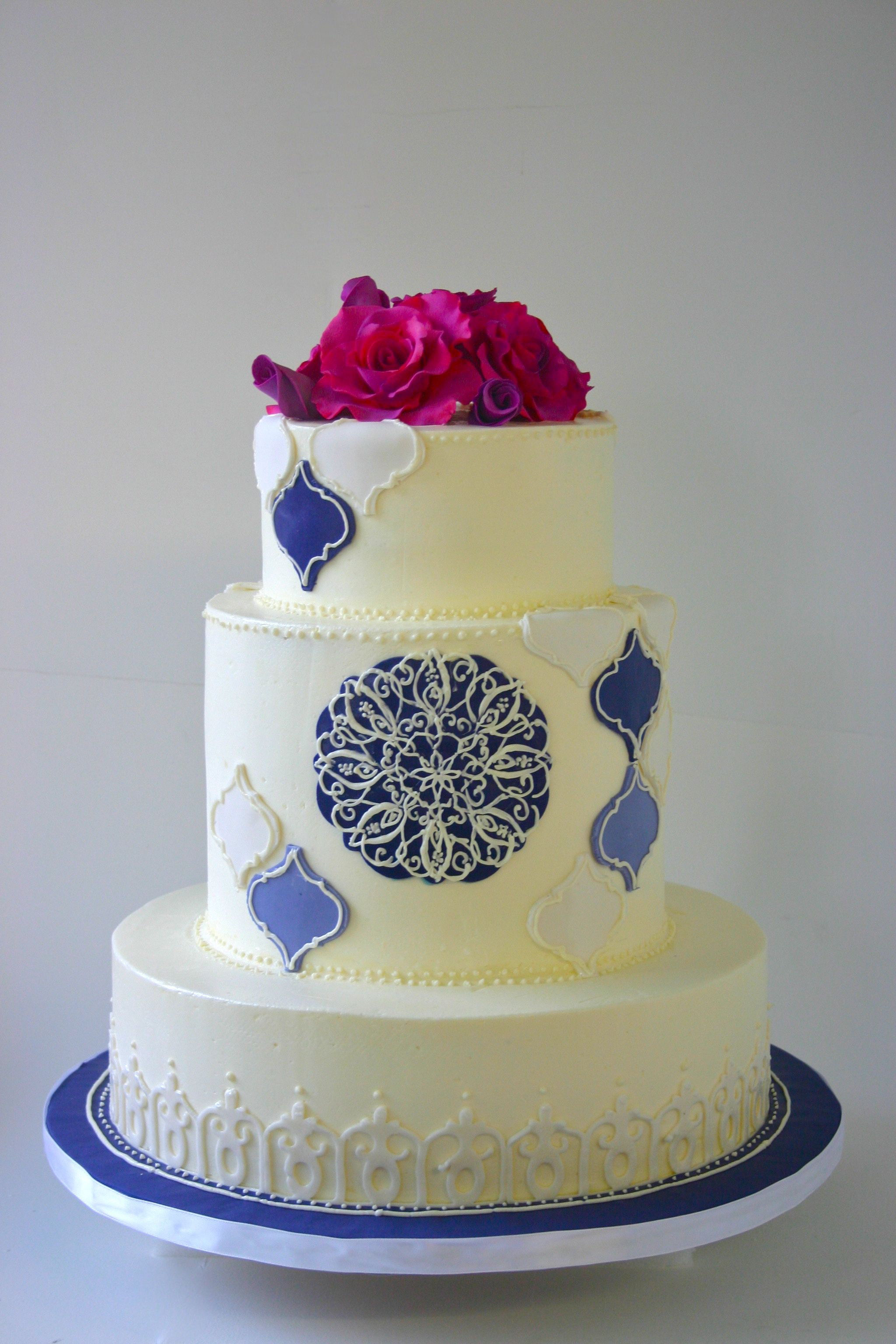 Kuchen Design Maroc A Moroccan Inspired Wedding Cake By Cakes To Remember
