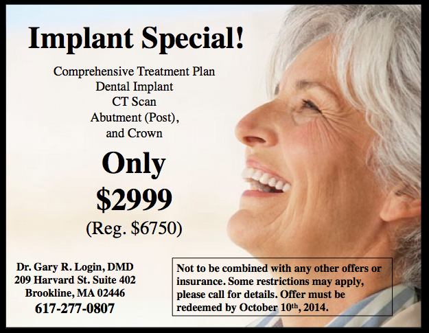 dental implant coupon