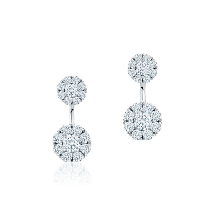 0fa50f56a Snowflake ® Large Round Jacket Earrings in 2019 | Gifts | Earrings ...