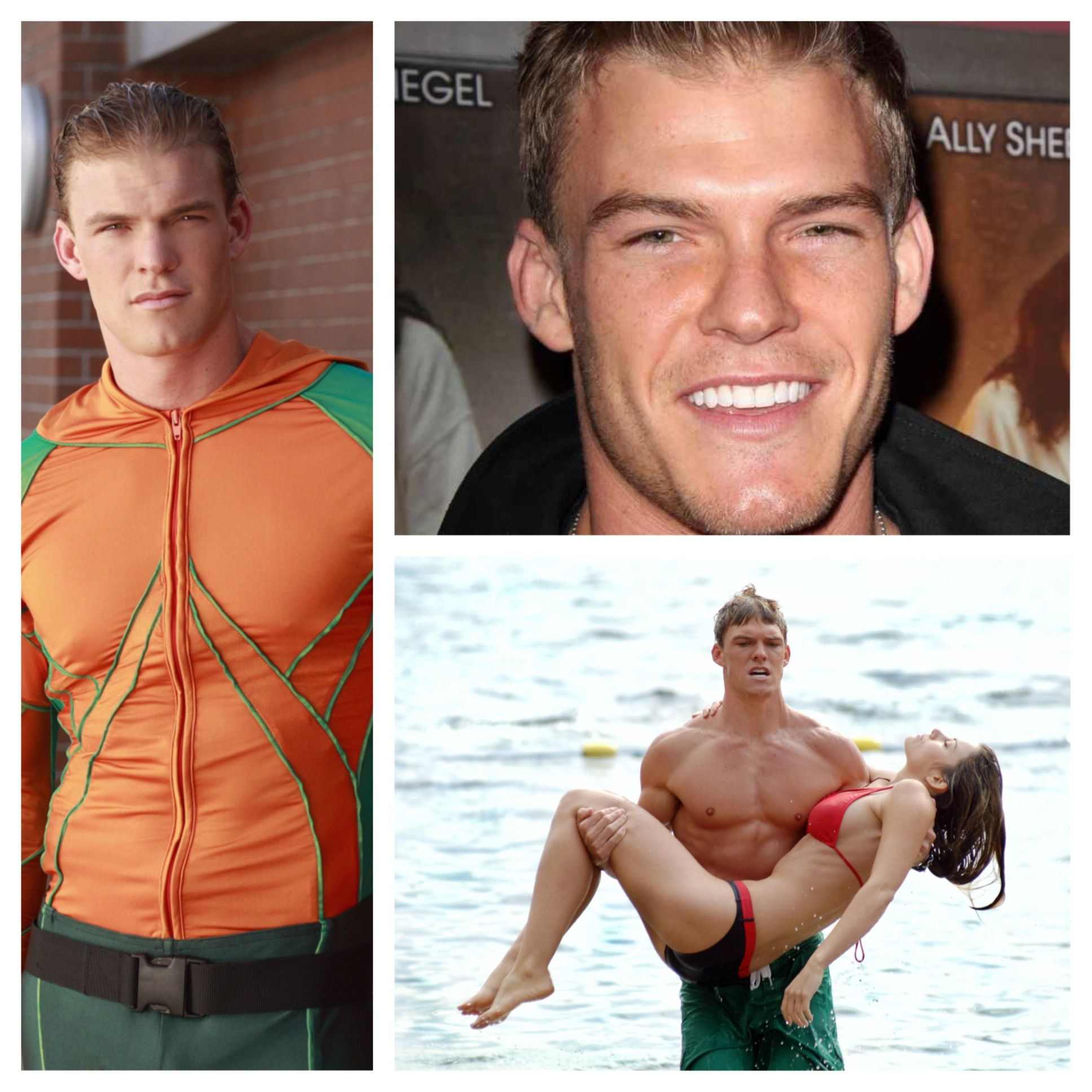 Alan Ritchson in Smallville as Aquaman seasons 4, 6, & 10 ...