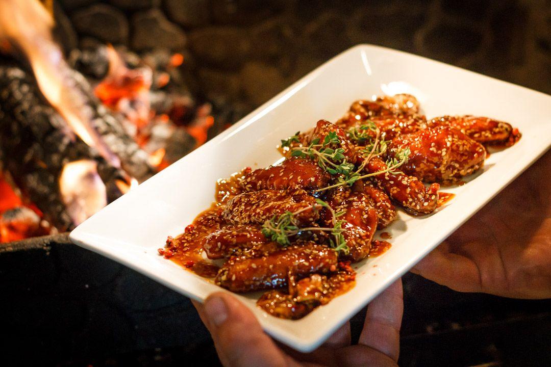 Хрустящие куриные крылья с кунжутом | Рулька, Меню и Рецепты