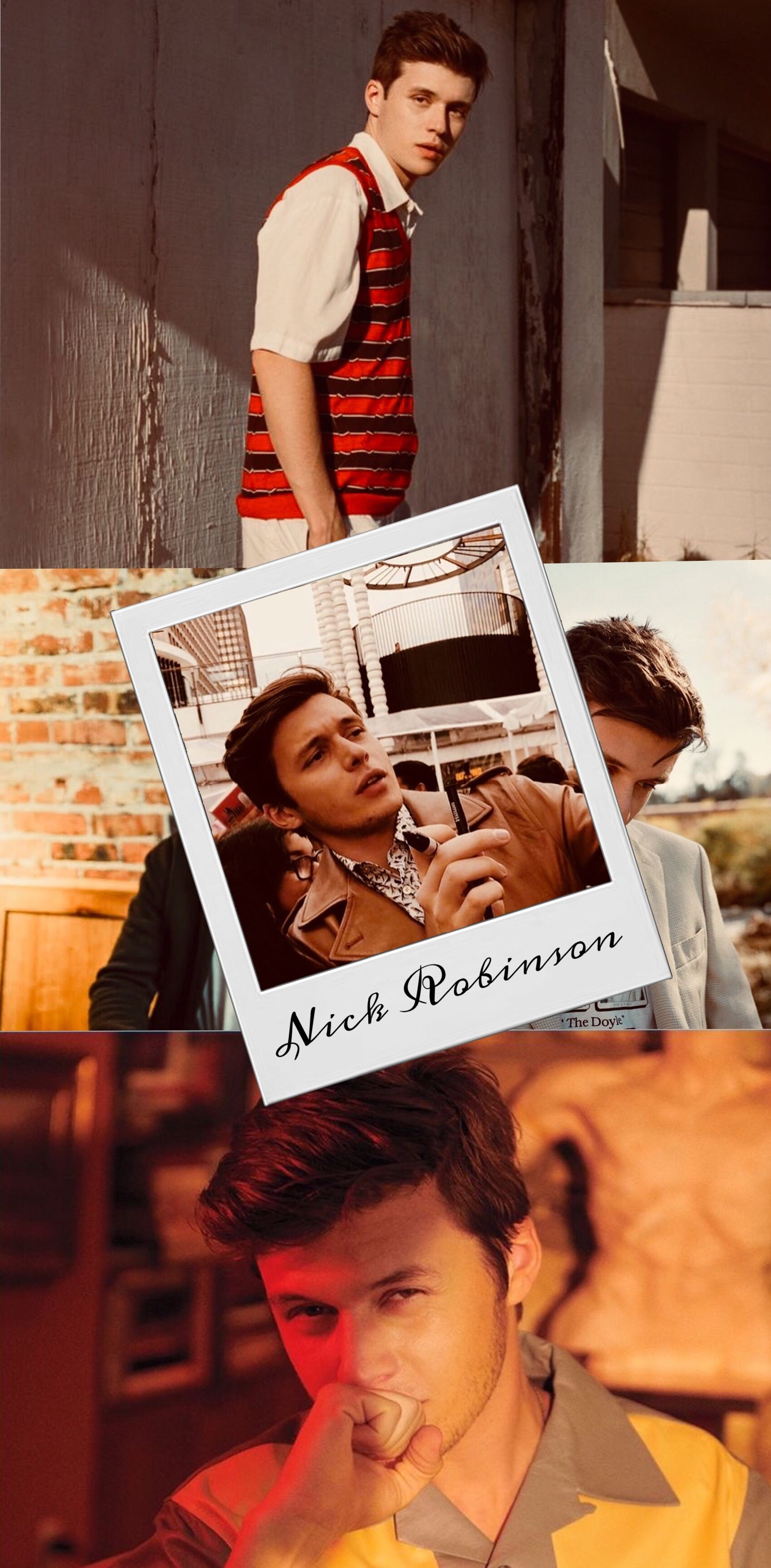Nick Robinson Wallpaper Nick Robinson Bombones