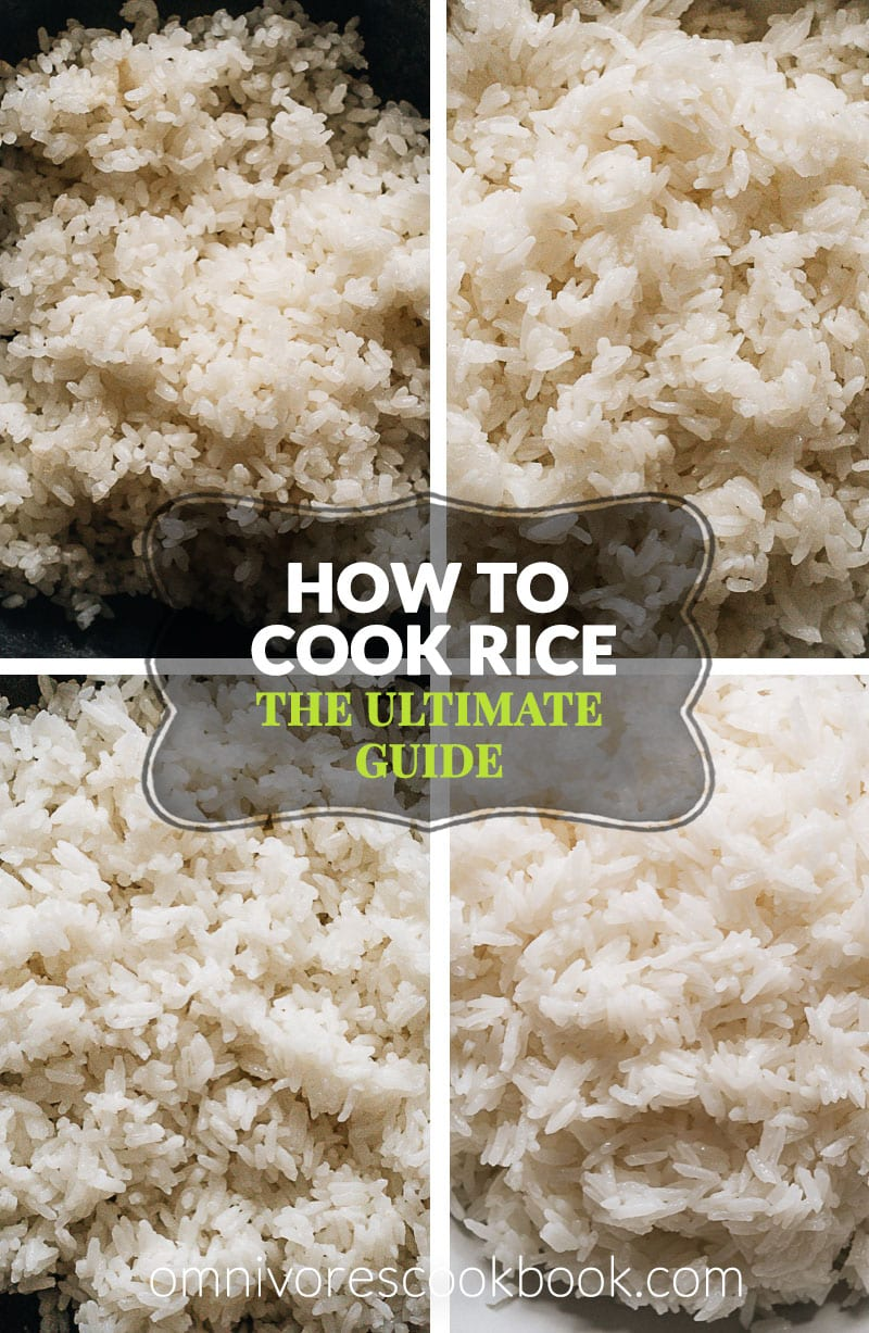 The Ultimate Guide On How To Cook Short Grain Medium Grain Long Grain And Jasmine Rice On The Stove Top How To Cook Rice Rice On The Stove Asian Side Dishes