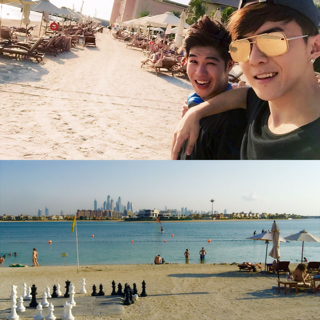 棕櫚島上的沙灘,脫衣服吧! DT 唐禹哲 Dubai Danson tang, Tang, Kpop
