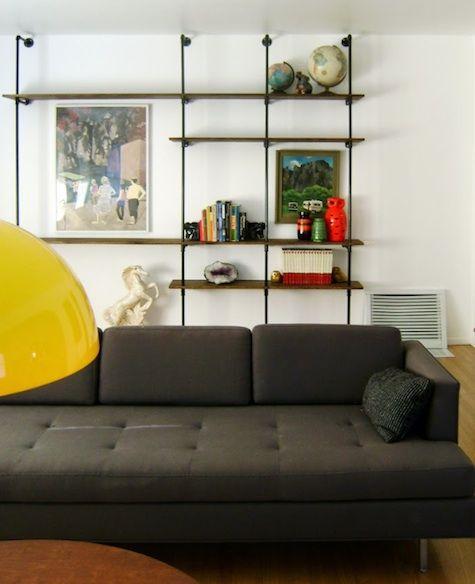 Via Remodelista | Mid Century Modern Shelving