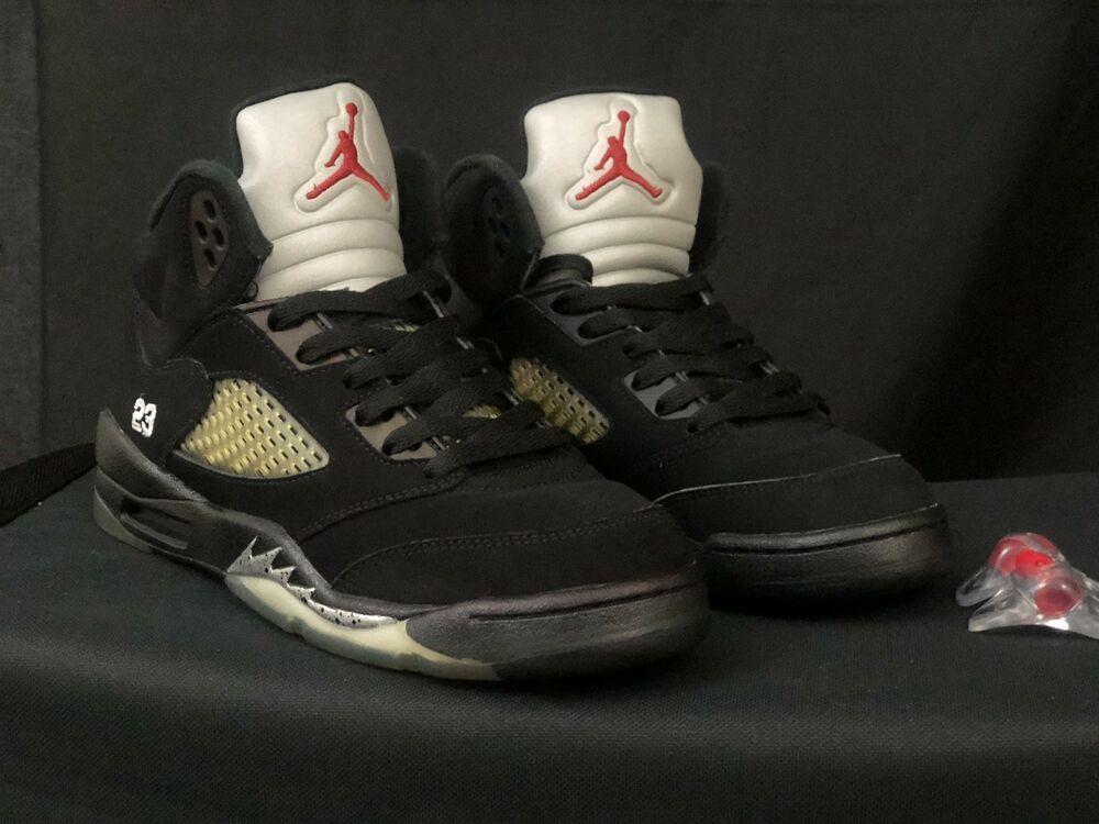 dcea7d21c5b 2011 Air Jordan V 5 Retro BLACK METALLIC SILVER OG 136027-010 SZ 5y (NO  BOX) #fashion #clothing #shoes #accessories #mensshoes #athleticshoes (ebay  link)