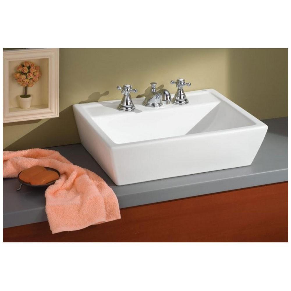 Sentire Petite Overcounter Lavatory Sinks Bathroom Sink Square Bathroom Sink Sink