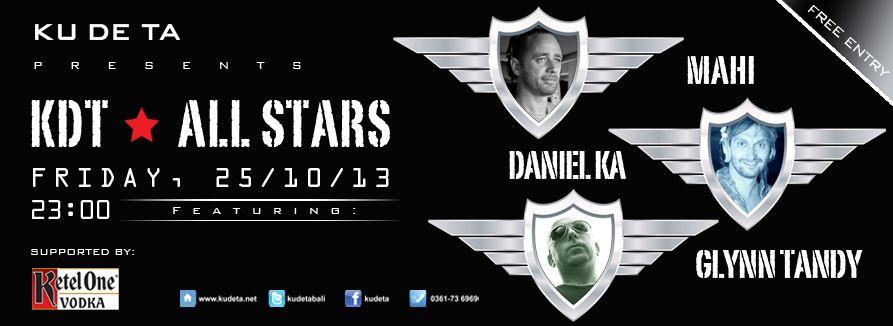 KDT All Stars Ft Daniel Ka, Glynn Tandy & Mahi, KUDETA, Bali