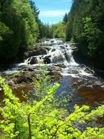 Copper Falls State Park 20 Miles North Of My Hometown Of Glidden Wisconsin State Parks Wisconsin Waterfalls Wisconsin Vacation