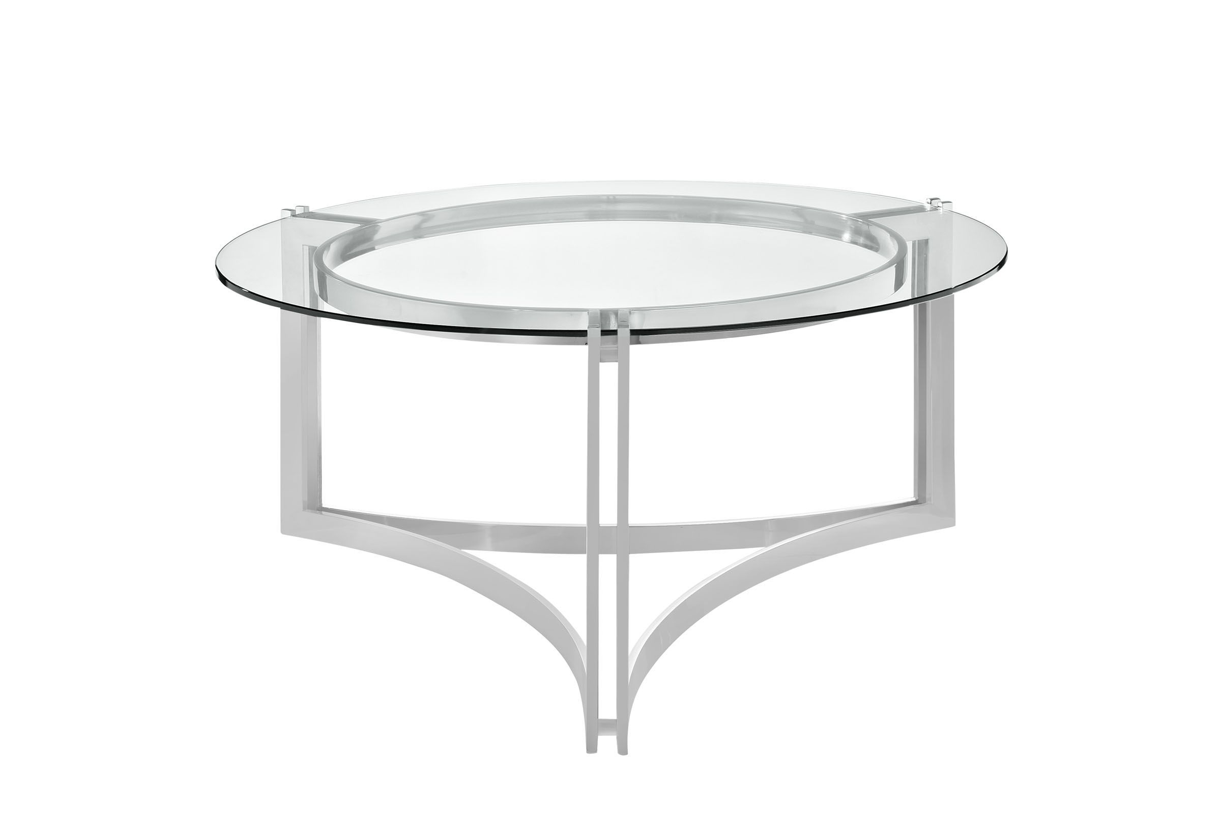 Signet Stainless Steel Coffee Table By Modway Steel Coffee Table