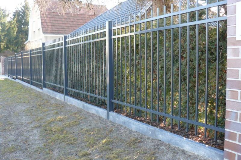 zaun stettin tor pinterest iron gates fences and gate. Black Bedroom Furniture Sets. Home Design Ideas