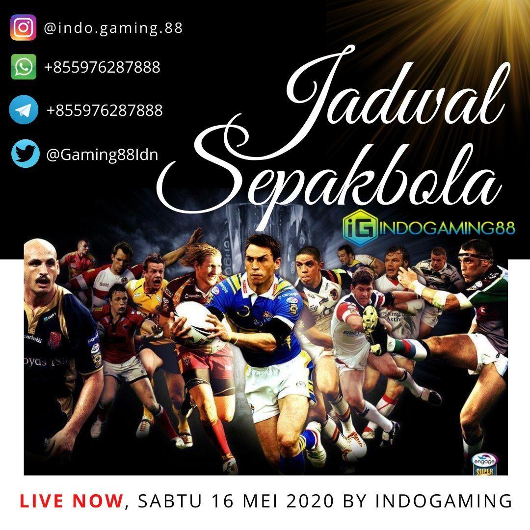 Jadwal Sepakbola Update Terbaru Indogaming88 di 2020 Slots
