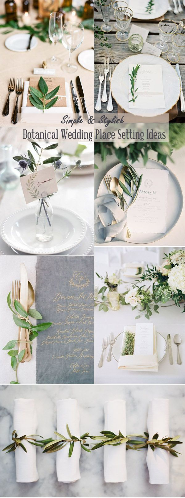 2019 Trends-Easy Diy Organic Minimalist Wedding Ideas #botanicgarden