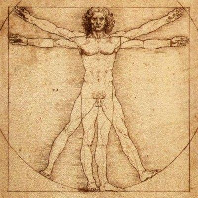 I feel like this guy when I lay in a big bed by myself.   Vitruvian Man, 1490 Leonardo da Vinci