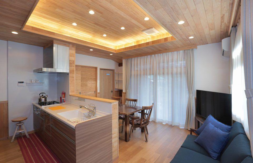 木 香る家 リビング 内装 住宅リフォーム 家
