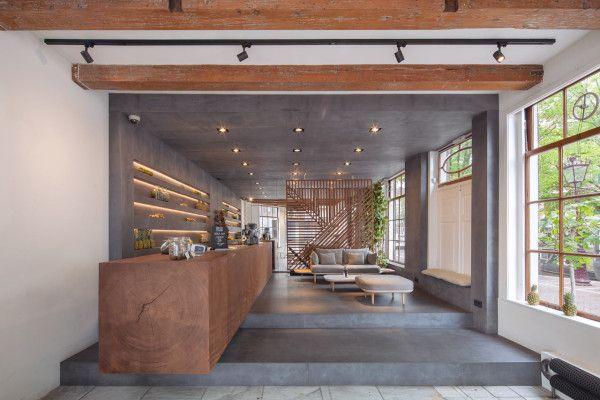 amsterdam milk minimalist interior