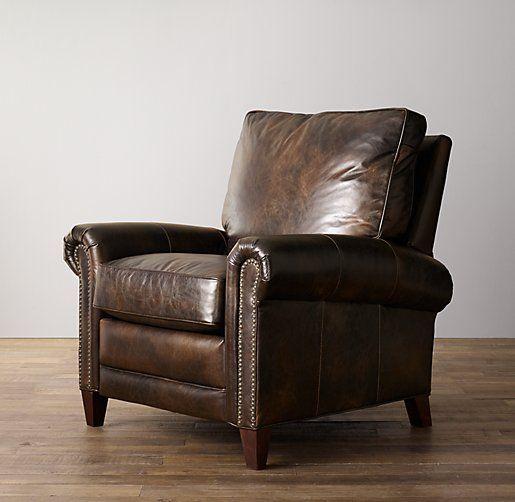 Carleton Leather Recliner   Nursery Seating   Restoration ...