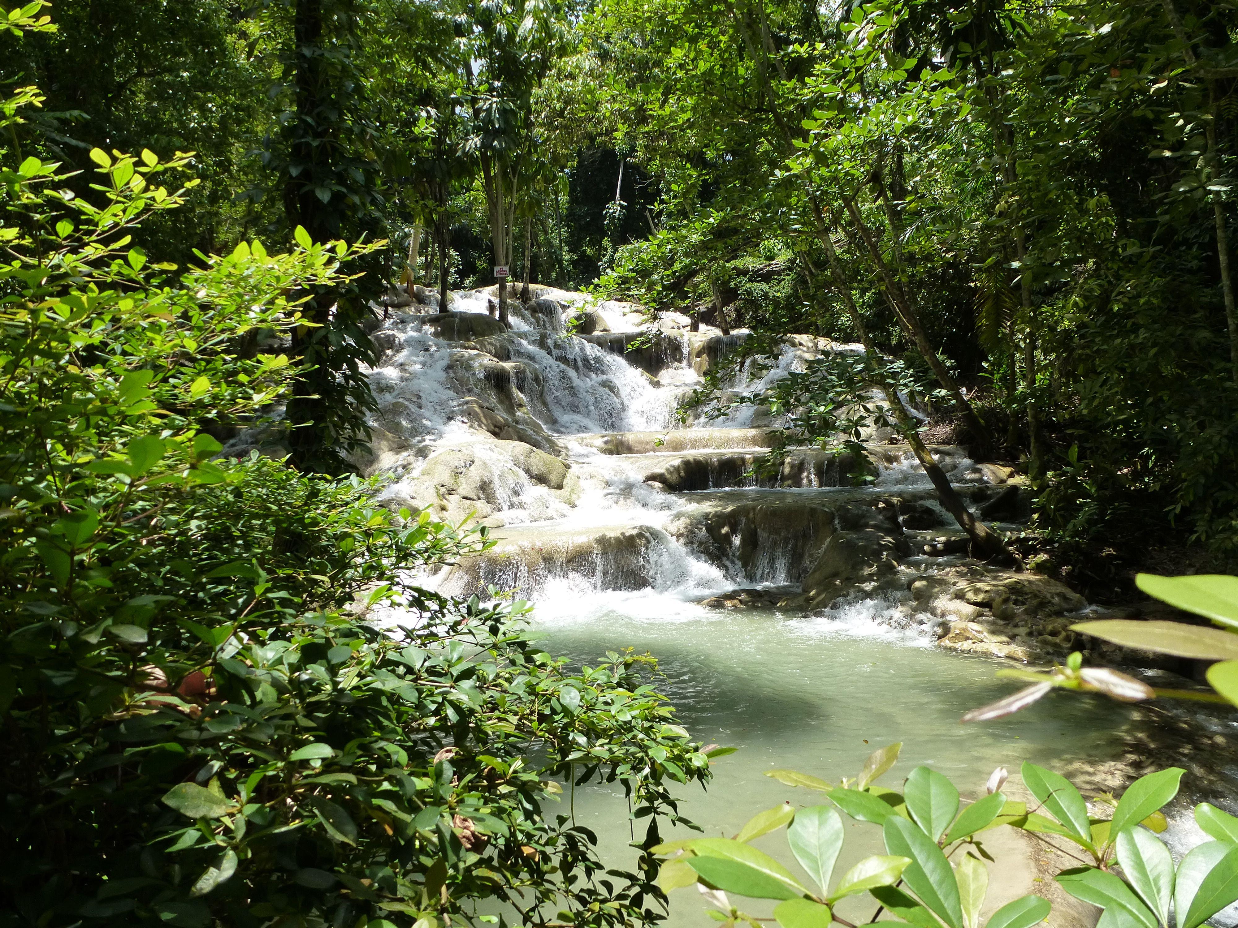 Jamaica, Dunn's River Falls.