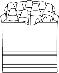Dibujos De Caja De Crayones Para Colorear Buscar Con Google