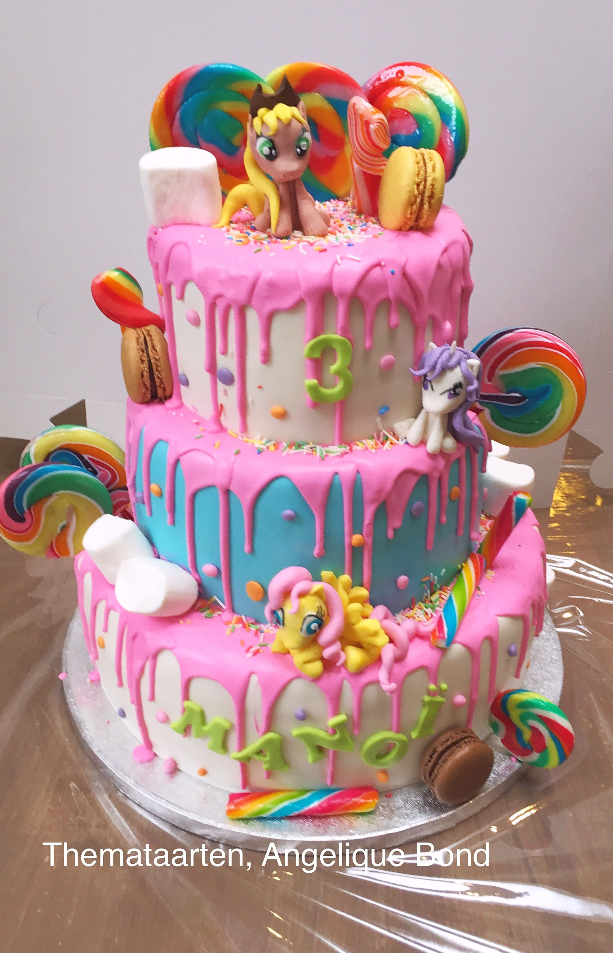 My Little Pony Cake Made By Angelique Bond Cakes Pinterest