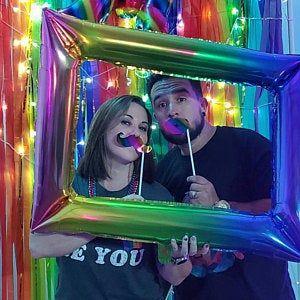 Colorful Backdrop, Wedding Backdrop, Photo Booth, Streamer Backdrop, Fringe Backdrop, Coachella Party Decorations, Bachelorette Party