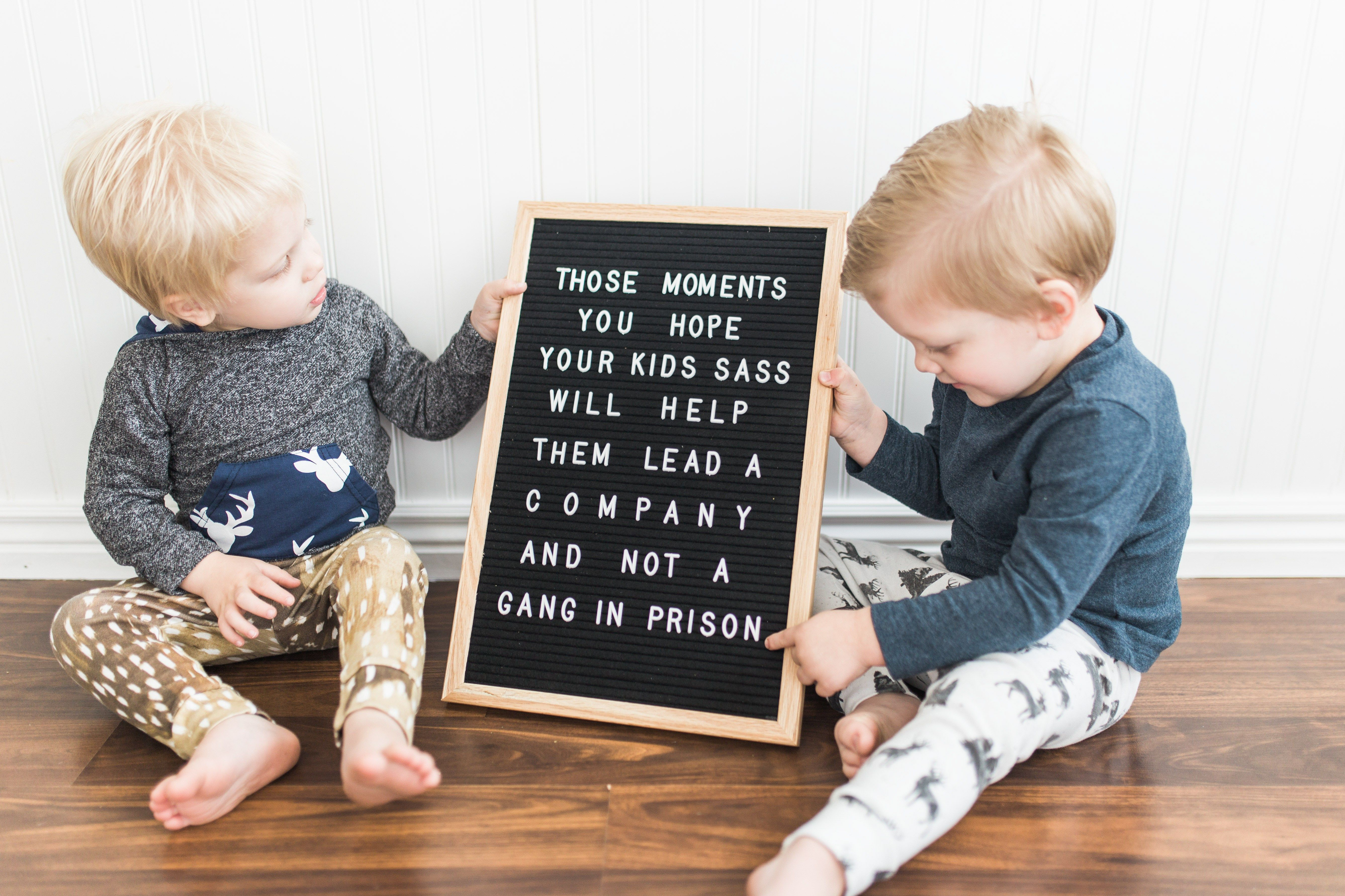 Funny Letterboard Quotes Twin Boys Funny Quotes About Kids Toddler Humor Funny Quotes For Kids Quotes For Kids
