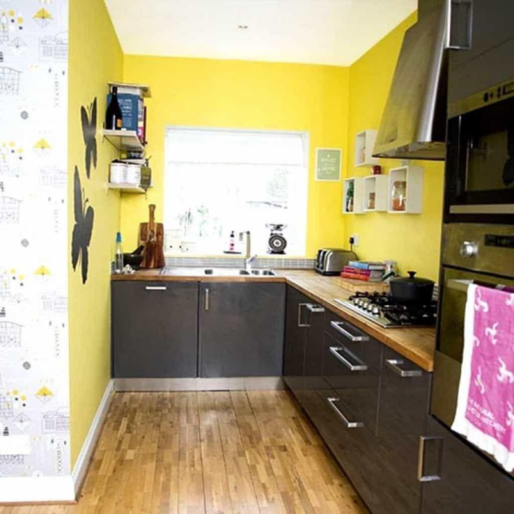 Designing Your Yellow Kitchen Grey Kitchen Designs Yellow