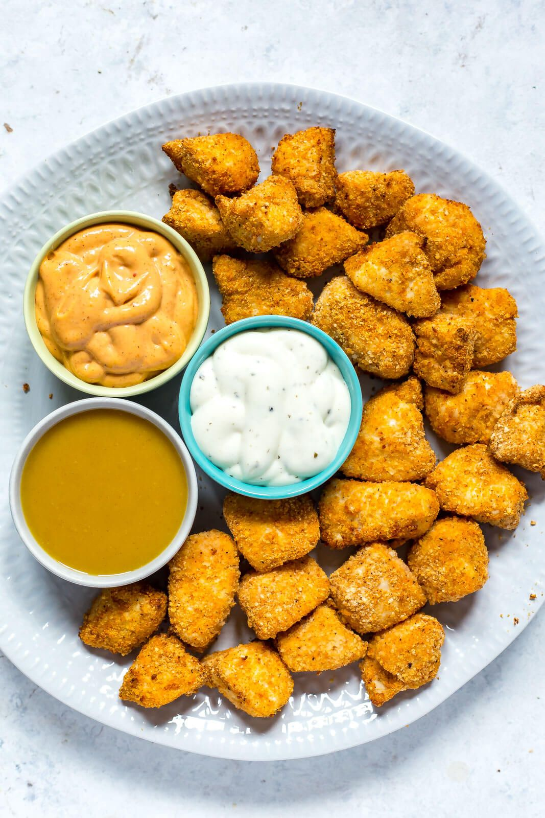 Airfryer chicken nuggets chicken nugget recipes chicken