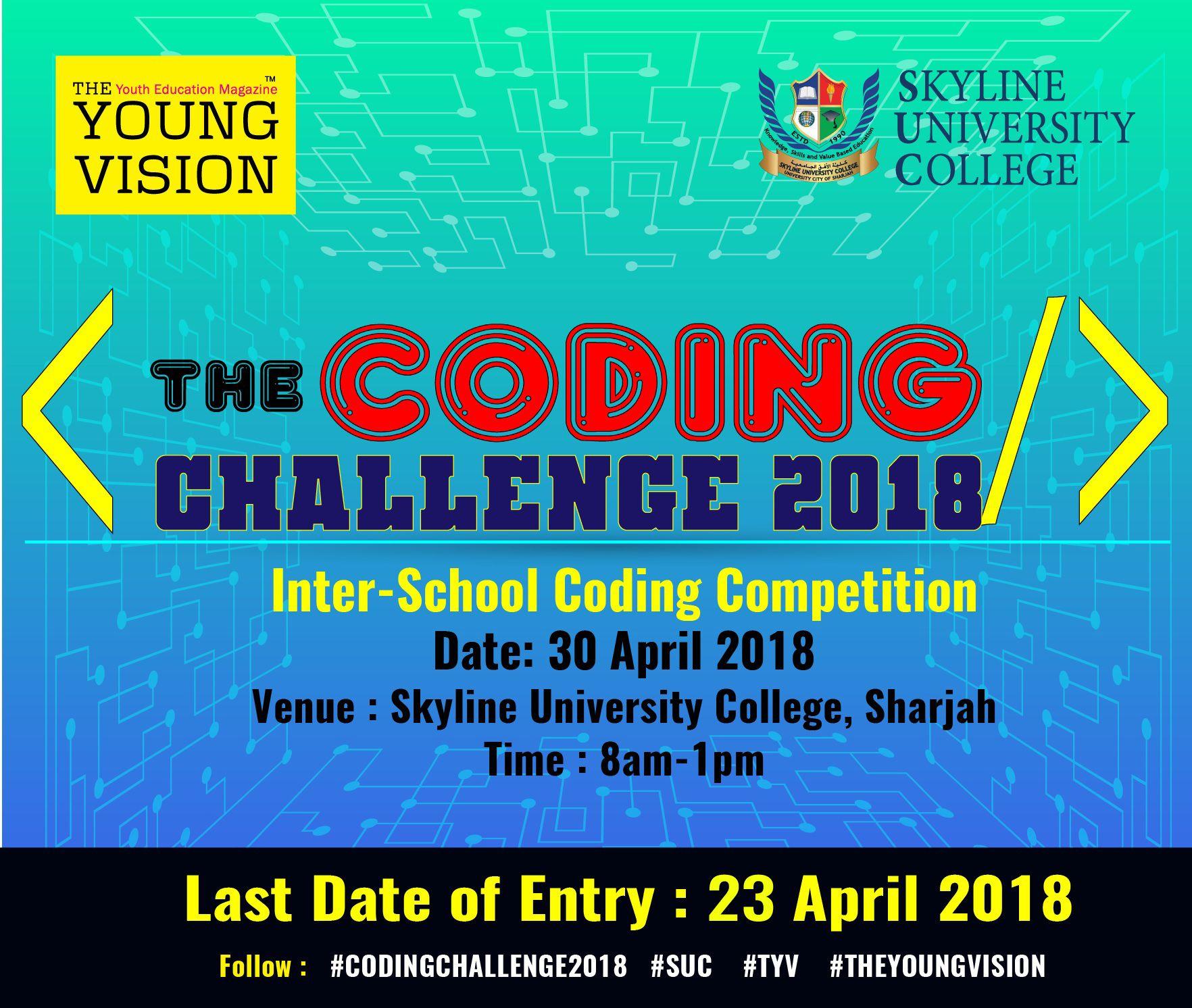 Coding Challenge 2018 – April 2018 | News Dubai | Coding