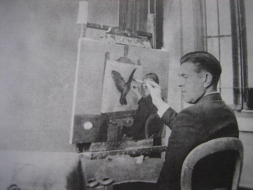 grandmastolemycloset: Visione Artistica: o ilusionista (surrealista) René…
