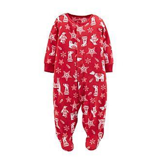 a232853d5 Carter s® Baby Microfleece Christmas Coverall