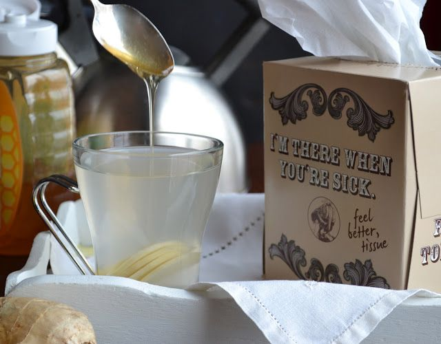 Ginger Lemon Tea - if you've got allergies, a cold or the flu, this tea can bring you the relief you need!  taste love and nourish