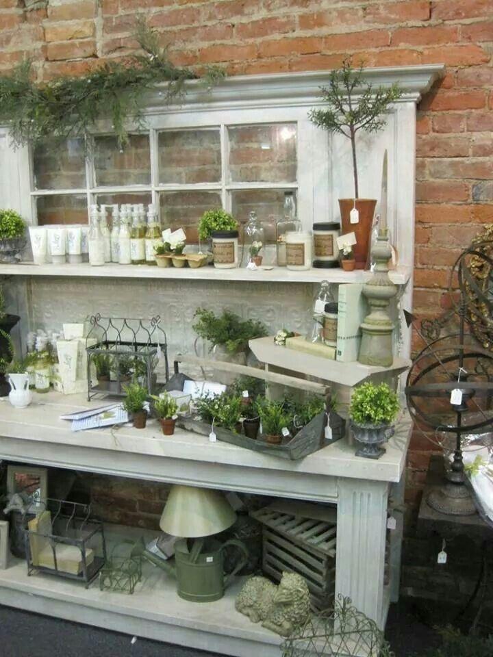 Potting bench Tricia Pinterest Garden, Potting sheds and