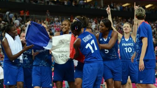 French Women Basketball Team reaches the final after his victory against Russia (81-64). On the road to the gold medal !!!