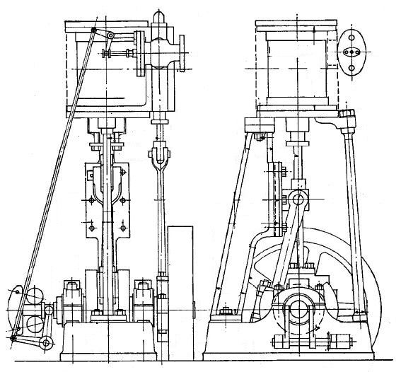 Simple Horizontal Steam Engine Diagram Simple Engine