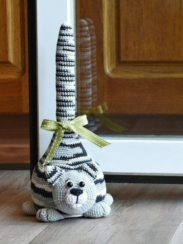 Photo of Peso de la puerta de ganchillo: +60 ideas para decorar tu hogar