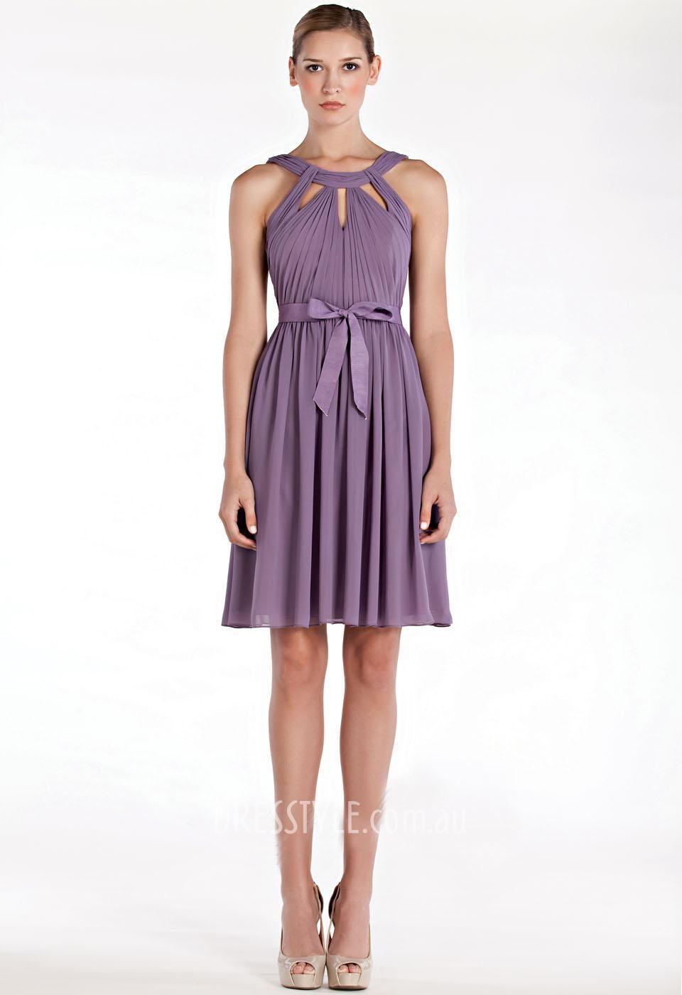 Purple dresses to wear to a wedding  purple halter sleeveless aline short above knee length formal