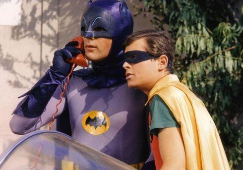 Batman takes a call