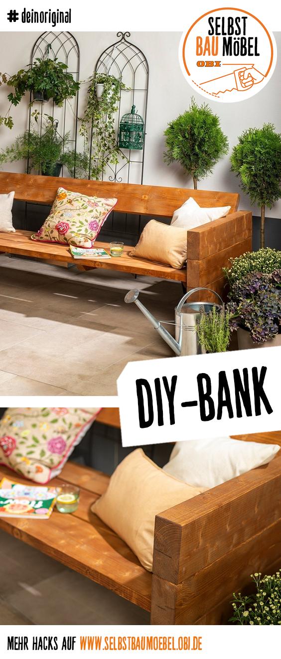 Du Willst Mehr Individualitat In Deinen Garten Bringen Dann Bau Dir Jetzt Deine Gartenbank Selbst Al In 2020 Garden Bench Outdoor Furniture Sets Backyard Inspiration